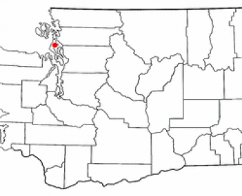 Location of Oak Harbor, Washington