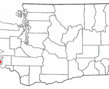 Location of Ocean Park, Washington