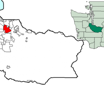 Location of Puyallup, Washington