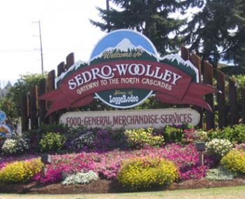 Skyline view of Sedro Woolley