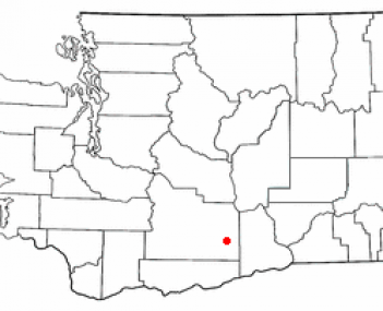 Location of Sunnyside, Washington