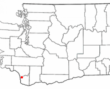 Location of Woodland, Washington