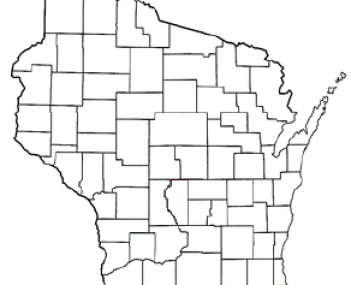 Location of Janesville, Wisconsin