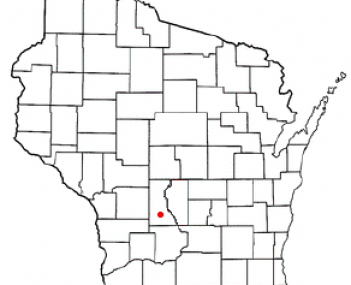 Location of Mauston, Wisconsin