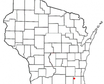 Location of Oconomowoc, Wisconsin