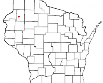 Location of Spooner, Wisconsin