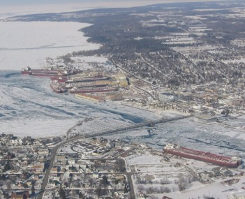 Ships in Sturgeon Bay
