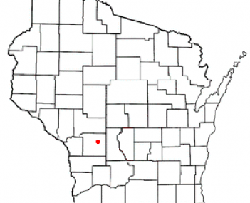 Location of Tomah, Wisconsin